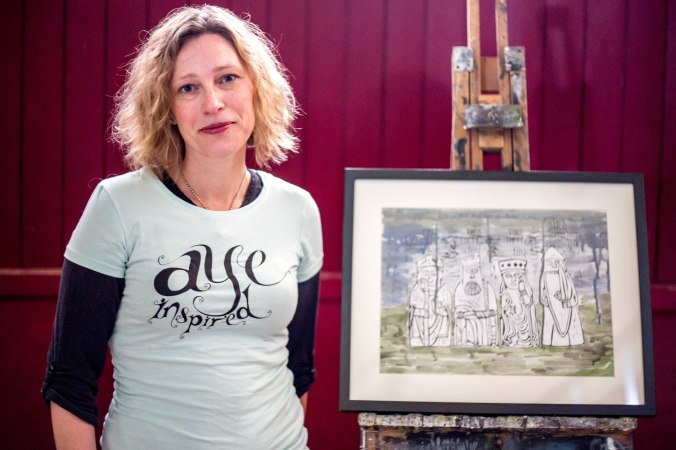 Aye Inspired portrait: Gillian Martin